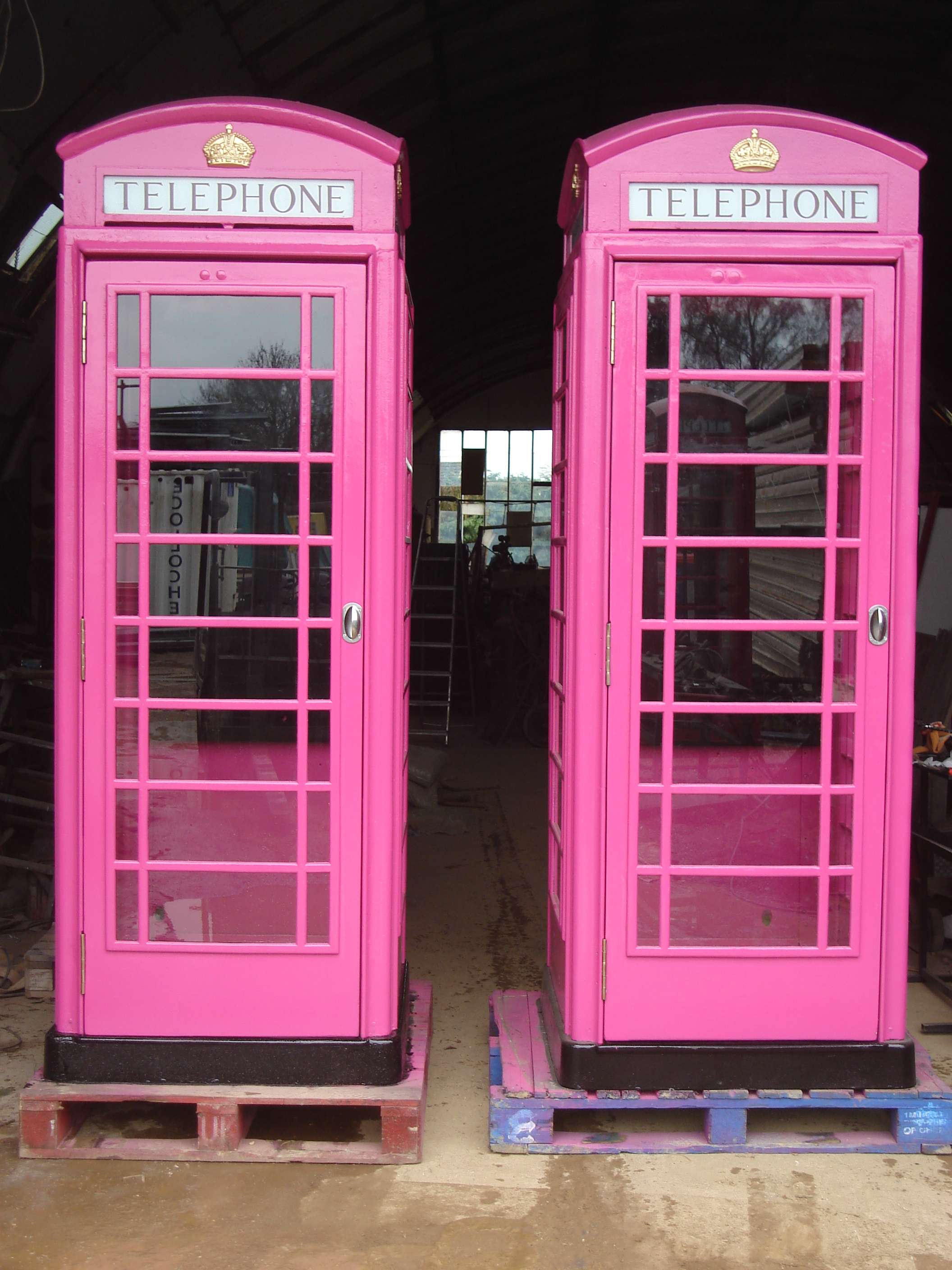 K6 Kiosk British Bits Restorers And Supplier Of The